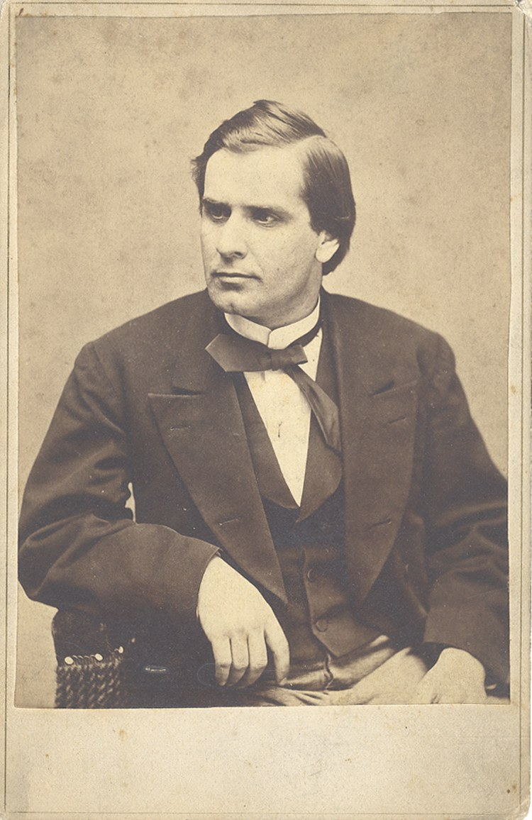 Early Cabinet Card Photograph Of Future President William McKinley