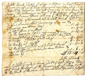Certifying A Soldier in Captain Edward Rogers's Company - 1778