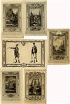 Period Revolutionary War Copper Engraved Images Of American Events