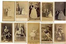 Risque and Little People CDV's