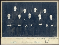c.1965 Supreme Court Signed Photograph