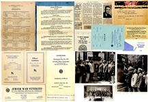Archive of the JEWISH WAR VETERANS of the United States of America for the Department of Pennsylvania