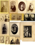 Varied 19th Century Photographs of Notables