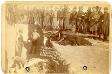 Mass Grave for the Dead Lakota at Wounded Knee