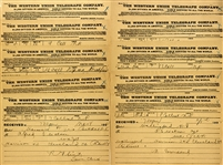 Telegram Results Archive From 1892 Presidential Campaign From Vermont