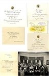 Large Group Of President Franklin Roosevelt and Harry Truman White House Invitations To Staff Member