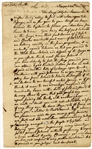 Slave Importers Samuel and William Vernon Ship Document